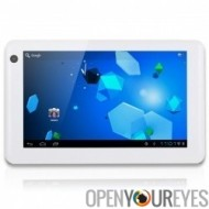 "Console tablette tactile 8 Gb Slim HD 1080P pour écran capacitif 7"" Android 4"