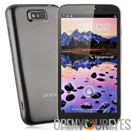 ZP950 + Quad Core Téléphone JB Android MTK6589 Dual Sim IPS HD écran 16 Gb