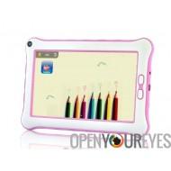 Enfants Tablet Contrôle parental Android 4.2 Fonction Lecture bébé Couleur Rose