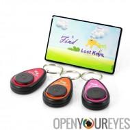 Sans fil Recherche Perdu clé - 3 porte clés récepteur - 1 Card télécommande Contrôle - Clés de recherche jusqu'à 50m