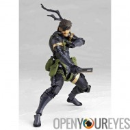 Metal Gear Solid Peace Walker LIMITED EDITION Figurine Revoltech Yamaguchi NO.131 SERIES prépeint