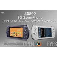 JXD S5800 Tablet console Dual Sim 3G RetroGame OpenConsole - Smartphone H+ Jeux Android - IPS LCD