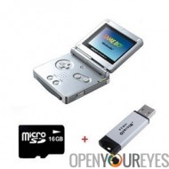 Key 1 GBA Consolle Edition limitée compatibilité jeux Nintendo + Sac Antichoc + Cable TV + Micro SD 16 Gb