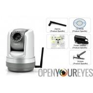 Caméra de sécurité vidéo 30 fps SONY CCD HD - Wifi - Ethernet IP Connect + Software + App Android - Apple IOS