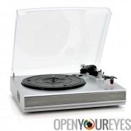 Platine disque vinyle à mp3 Record Player Converter - Haut- parleurs stéréo double - Sortie RCA - USB - 33 - 45 RPM