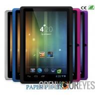 Papier phablet - Internet Smartphone Tablet téléphone portable écran tactile 7 pouces Android 4.2 - Wifi - 3G - Bluetooth
