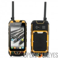 Android Aventure Smartphone 3G Walkie Talkie GPS imperméable à l'eau IP67 - ShockProof