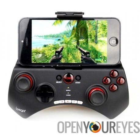iPega Bluetooth contrôleur de jeu Joypad mobile OpenConsole - Smartphone Android - Samsung - Apple - iPad - iPhone - PC Windows