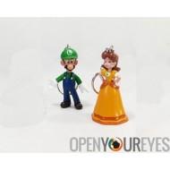 Keychain Nintendo Super Mario Bros Wii U jeu Actionfigure PVC Vinyl Figure Manga - Bundle 5