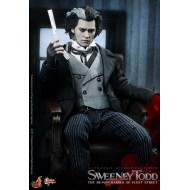 HOT TOYS MMS149 - Sweeney Todd - The Demon Barber of Fleet Street - Johnny Depp Tim Burton film