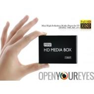 Mini lecteur multimédia haute définition de 1080p pour TV (HDMI, USB, SD, AV)