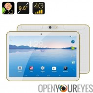 Phablet Android 4G - 5.1 Android, écran 9,6 pouces IPS, OTG, Bluetooth 4.0, MTK6592 Octa Core CPU Dual SIM
