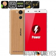 Ulefone puissance Smartphone - 5,5 pouces IPS écran, Android 5.1, 3Go de RAM, 64 Bit CPU Core Octa, batterie 6050mAh, Dual SIM