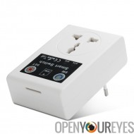 Douille universel GSM Smart Plug - douille universel, quadri-bande, 2000W, 10Amp