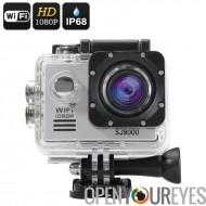 SJ9000 Wi-Fi caméra d'Action HD - 1080p, 30 images/s, Angle de 170 degrés, 14MP, 2 pouces LCD, HDMI Out (argent)