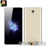 VKWorld F1 Smartphone Android de 5,1 - écran de 4,5 pouces IPS, Bluetooth 4.0, SmartWake, deux caméras, 1850mAh batterie (or)