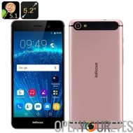 InFocus I808 Android Smartphone 5,1 - 5,2 pouces FHD écran, 4G, Octa Core CPU, 2 Go de RAM, 32 Go mémoire +128 GB SD (RoseGold)