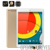 """9,7 pouces Retina écran Tablet PC """"D'engrenage"""" Pro""""- 2048 x 1536 résolution, RK3288 1,8 GHz CPU, 2 Go de RAM, 4K Support, 5.1"""