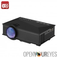 UNIC UC46 projecteur Portable - LCD + LED, 800 x 480, 1200 Lumens, Miracast, DLNA, Airplay, carte SD, HDMI