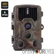 Caméra Full HD Game - 1/3 de pouce CMOS, 16 mois en veille, temps de déclenchement de 0,6 seconde, 2,5 pouces, vidéo 1080p, IP6