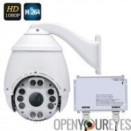 Extérieur IP67 étanche 1080p vitesse Dome Camera - Compression H.264, 1/2, 8 pouces SONY CMOS, WDR, faible soutien léger, Zoom