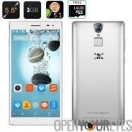 THL T7 Smartphone - écran de 5.5 pouces IPS, MTK6753 64bits Octa CPU Core, Android 5.1, 3Go de RAM, 16 Go de ROM, 4G