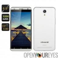 VKWorld VK700 Pro Smartphone - 5,5 pouces écran, classe de 3,0 D de gorille, Quad Core CPU, Dual SIM, caméra Sony, Smart Wake (