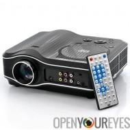 Projecteur DVD avec lecteur DVD intégré - lecteur DVD Combo de projecteur, LED, 800 x 600, 30 Lumens, contraste 100: 1