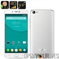 Doogee Y200 Smartphone - Android 5.1, 4G, 5,5 pouces écran, 2 Go de RAM, lecteur d'empreintes digitales, Smart suite, geste de