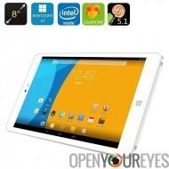 CHUWI Hi8 Pro Windows 10 + Android Tablet PC - écran de 8 pouces 1920 x 1200, USB Type-C, Mini HDMI, OTG, Bluetooth