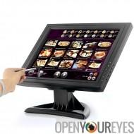 15 pouces LCD écran tactile - résolution de 1024 x 768, VGA, HDMI, TV, pour PC/POS