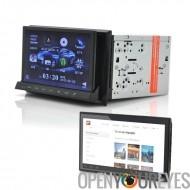 2DIN voiture lecteur DVD «CVITT» - détachable 7 pouces Tablet Android, GPS, DVB-T, WiFi
