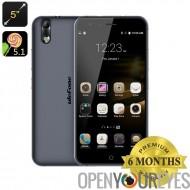 Ulefone Paris 4G Octa Core Smartphone - SoC de 64 bits, 2 Go de RAM, Android 5.1, Dual SIM, 13Мп Camera, OTG (noir)