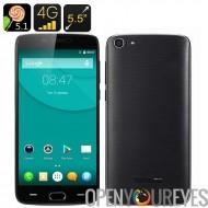 Doogee Y200 Smartphone - écran de 5.5 pouces, 2 Go de RAM, lecteur d'empreintes digitales, 4G, Android 5.1, Smart suite, OTG, g