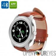 IMACWEAR T1 Smartwatch - IP57 imperméable à l'eau, 1,3 pouces, podomètre, fréquence cardiaque, musique, caméra à distance décle