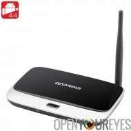 4,4 Android TV Box « Q7 2GIG » - Quad Core, 2Go RAM + 8G de mémoire, DLNA, 1080p, Support Wi-Fi