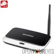 4,4 Android TV Box « Q7 2GIG » - Quad Core, 2Go RAM + 8G de mémoire, DLNA, 1080p, Support Wi-Fi