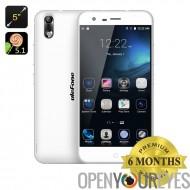 Ulefone Paris 4G Octa Core Smartphone - Android 5.1, processeur 64 bits, 2 Go de RAM, caméra 13Мп, Dual SIM, OTG (blanc)