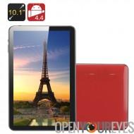 10,1 pouces Quad Core Tablet PC « Kappa » - tous les gagnant A33 CPU, Mali 400 GPU, 1 Go de RAM, 8 Go de mémoire, OTG (rouge)