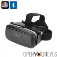 Réalité virtuelle en 3D VR lunettes « Vision One » - Bluetooth Remote Control, Smartphones de 3,5 à 6,0 pouces s'adapte, rembou