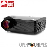 Quad Core Android 4.4 projecteur « DroidBeam II » - 1,5 GHz Quad Core CPU, 250 pouces HD Projection, 3000 Lumens, WiFi, 8 Go de