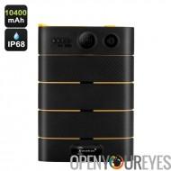 Chargeur de Ken Xin Da Max8 - 10400mAh, IP68, 5V 2. 1 a sortie, lampe de poche, indicateur de puissance LED, ventouses