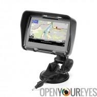 Tous les moto de 4,3 pouces de Terrain le système de Navigation GPS « Rage » - IPX7 Rating, 4Go de mémoire interne, Bluetooth (