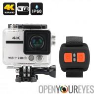 Ultra HD 4K Action caméra « Clarion » - 20MP, objectif de 170 degrés, Sony CMOS, poignet télécommande, WiFi, DVR enregistrement