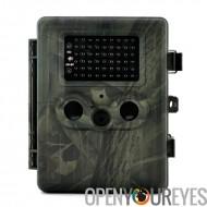 Jeu-photo «Trailview» - HD 1080p, PIR Motion Detection, Vision nocturne puissant, MMS View, écran de 2,5 pouces, batterie rec