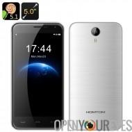 Homtom HT3 Android Smartphone - processeur Quad Core Mali GPU, écran de 5 pouces HD, 3000mAh batterie, double SIM (argent)