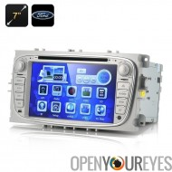 7 pouces écran lecteur DVD de voiture «Blunt» - pour Ford Focus 2009-2012, 1080p, GPS, Bluetooth (2 DIN)