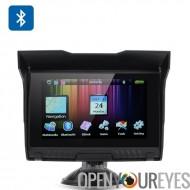 5 pouces moto GPS - imperméable à l'eau IPX5, notation, Bluetooth, 8 Go de mémoire interne, carte Micro SD Slot