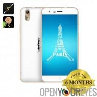 Ulefone Paris 4G Octa Core Smartphone - écran de 5 pouces IPS OGS, Android 5.1, 64 Bit, 4G, OTG, 13Мп caméra (or)
