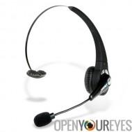 Confortable oreillette Bluetooth avec micro Boom-taux de réponse